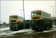 6799 2440 ((Stop) The Clocks) Tags: snow winter leyland leylandfleetline mcw mcwmetrobus sda799s noa440x people wmpte westmidlandstravel 6799 2440
