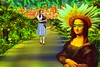 Dorothy Meets Mona (Rusty Russ) Tags: dorothy mona lisa yellow road flowers fruit wizard colorful day digital window flickr country bright happy colour eos scenic america world sunset beach water sky red nature blue white tree green art light sun cloud park landscape summer city people old new photoshop google bing yahoo stumbleupon getty national geographic creative composite manipulation hue pinterest blog twitter comons wiki pixel artistic topaz filter on1 sunshine image