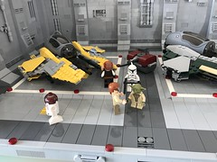 LEGO® Star Wars: Interceptor Starfighter Hangar 2.0 - 08 (jm_aalen) Tags: lego® moc afollu star wars starwars greebles starfighter space spaceship nurbies republic cockpit widget battle gunship interceptor hangar eta2 actis