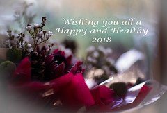 Happy New Year (jayneboo) Tags: 365 theend thebeginning newyear 2018 flowers bouquet happy memories wedding odc beginning ending