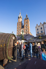 Krakow Christmas Market 2017 (Cat Girl 007) Tags: christmas krakow poland market landmark gothic square winter town medieval cracow building europe renaissance church street polish view urban architecture tower city people hall old european malopolska festival main tourists place holiday outdoor marketsquare mainmarketsquare oldcity rynekglowny oldtown fair decoration trade outdoors ornament scene tourism culture famous historic touristic traditional basilica cathedral architectural editorial
