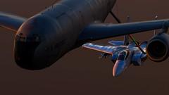 Refueling_13 (The_SkyHawk) Tags: world f15 eagle usaf refueling air force dcs digital combat simulator flight flying jets aviation virtual flightsim