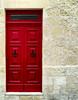 Red door (Siuloon) Tags: door drzwi red architektura architecture architettura malta valletta