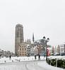 Mechelen Grand Place (smets84) Tags: mechelen grote markt sneeuw sintromboutstoren strumbolds tower saint rumbolds