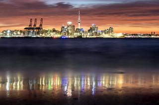 Auckland from Devonport, New Zealand