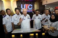 Majlis perasmian bangunan Pusat Transformasi Bandar ( UTC) Seremban,Negeri Sembilan.30/11/17