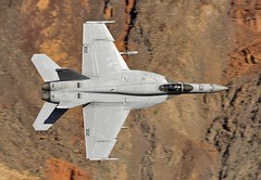 THE JEDI (Dafydd RJ Phillips) Tags: vfa86 86 vfa us navy naval air station f18 hornet aviation military lo level death valley jedi transition star wars canyon panamint sidewinders lemoore california super carrier wing 7 seven strikefitron fighter jet attack usa america sqn squadron