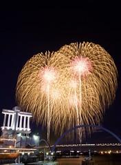 ISOGAI花火劇場 2016 Isogai Fireworks Festival in Nagoya 2016 (ELCAN KE-7A) Tags: 日本 japan 名古屋 nagoya 港 port 花火 fireworks 磯谷 isogai 煙火 クリスマス christmas イヴ eve ペンタックス pentax 2016 k5ⅱs