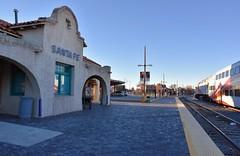 Santa Fe Depot (jpellgen (@1179_jp)) Tags: santafe newmexico southwest usa america travel nikon d7200 december winter 2017 nm sf railyard train rail sigma 1770mm station railrunner express santafedepot artsdistrict railyardartsdistrict santaferailyard