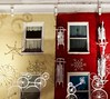 bicicles (lucyroland) Tags: snowmen snow holiday christmas winter decorations diy shadows splitpic sledding sleds