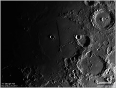 The Straight Wall on the Moon – December 26, 2017 (LeisurelyScientist.com) Tags: tomwildoner night sky space outerspace meade telescope lx90 celestron cgemdx asi190mc zwo astronomy astronomer science canon crater moon lunar weatherly pennsylvania observatory darksideobservatory leisurelyscientist leisurelyscientistcom tdsobservatory solarsystem december 2017 rupes recta wall staright rille