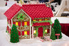 gingerbread mansion (raspberrytart) Tags: festivaloftrees christmas gingerbread gingerbreadhouse gingerbreadcookie cookie candy decorating nikon d7100