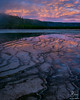 Midway Geyser Basin, Yellowstone Ntl Park, WY (Scott Rubey) Tags: basin clouds geyser landscape midway nationalparks nature pink reflection rockies rockymountains sunrise water wyoming yellowstone park county teton