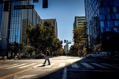 Out Of The Shadows (Abel AP) Tags: buildings city street people shadows highrise urban sanjose california usa downtownsanjose sanfranciscobayarea northerncalifornia abelalcantarphotography