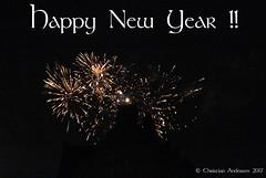 ... Happy New Year, Sretna Nova godina, Feliz Ano Novo, Felice anno nuovo, Bonne année, Feliz año nuevo, Godt Nytår ... (ChristianofDenmark) Tags: christianofdenmark copenhagen denmark happy new year happynewyear 2018 fireworks night 31december2017