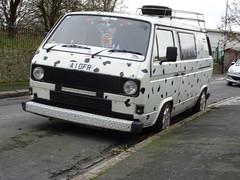 1990 Volkswagen Transporter (Neil's classics) Tags: vehicle van camper 1990 volkswagen transporter vw camping motorhome autosleeper motorcaravan rv caravanette mobilehome dormobile kombi t3 t25