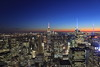 Manhattan (A Sutanto) Tags: blue hour ny new york manhattan newyork big apple night lights empire state building topoftheorck observation deck view panorama