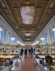 NYC Library (Valley Imagery) Tags: nyc public library art architecture