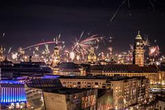 Happy New Year 2018 by T.Berger (Tom Berger LBF) Tags: tberger dresden altstadt canon70d 50mm festbrennweite firework feuerwerk frauenkirche color colorful highlight langzeitbelichtung belichtung langzeit fun