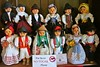 hi dolls! :) (green_lover) Tags: dolls costumes toys tenerife canaryislands spain colors letters folklore