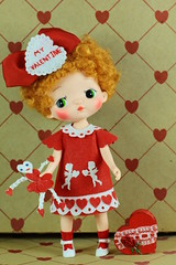 Sewing for HoLaLa (raining rita) Tags: holala valentines valentine handmade