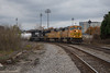 Searching (ajketh) Tags: bnsf ns burlington northern santa fe norfolk southern emd sd70mac sd70m sd60 9969 6635 searchlight fixedapproach downtown columbia sc south carolina devine junction uofsc university usc cloudy overcast andrews yard limits 4099