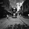 Silver Balls SWC Tmax 400004 (Hieu Doan) Tags: adelaide rundle mall silver balls hasselblad swc 903 zeiss 38mm biogon tmax 400 film