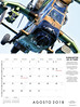 Agosto 2018 (Ismael Jorda) Tags: calendario fotografía aeronáutica calendar aviation photo ismaeljorda airbus freccetricolori skyraider f18 hornet a330 patrullaaspa saab gripen tigre f22 raptor patrouillesuisse c101 claex night landing approach