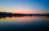 Nevena Uzurov - Blue hour (Nevena Uzurov) Tags: sava flatland sremskamitrovica serbia nevenauzurov landscape scenery reflections