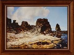 2013-01-03-4024N (OK Gallery) Tags: painting gotland sweden sverige oddkhauge yourgotlandphotos group