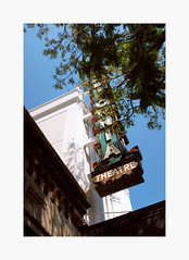 California Theatre (bnishimoto) Tags: fuji fujifilm myfujifilm downtown sanjose bayarea x100f classicchrome color urban californiatheatre marquee historicsanjose architecture