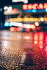 The street is on fire (mripp) Tags: art vintage retro old bokeh colors color urban city stadt berlin night nacht poster reflections rain rainy germany deutschland leica m10 summilux 50mm