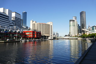 The Yarra River, Melbourne...