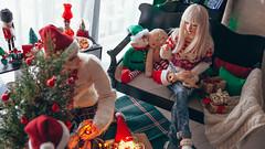 8 (mimiau_m) Tags: bjd bjdstory asian doll christmas noel zaoll luv recast dollroom