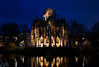 Feuersee Church #3 (Brian Out and About) Tags: feuersee gothic churches stuttgart germany europe amateur nikon d5200 architecture bluehour water reflections longexposure
