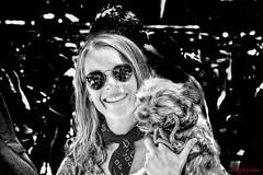 OUT OF THE MILIEU -- NOEL AND FINN (panache2620) Tags: standout processing monochrome stylized eos canon candid minneapolis dog pet friendship portrait creative art milieu