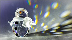 Snowman (David Flather) Tags: snowman swarovski spectrum prism takumar winter snow