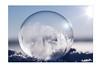 Eiszauber (SonjaS.) Tags: seifenblase bubbles gefrohren sonne gegenlicht schnee kalt eis frozen frozenbubble gefrohreneseigenblase