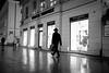 Going places (michael.mu) Tags: leica m240 35mm leicasummicronm1235mmasph leicasummicron35mmf20asph warszawa warsaw night streetphotography poland silverefexpro blackandwhite bw monochrome