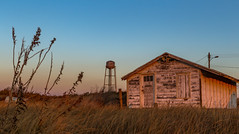 Dilapidated Beach House (Dalliance with Light (Andy Farmer)) Tags: capemay beach building decay weathered dilapidated dusk ocean shore westcapemay newjersey unitedstates us