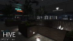 Hive: The Arklay Mall (Andy2 Spore) Tags: thehive adventure apocalypse arklay arklaymt secondlife sim shopping arcade videogame residentevil raccooncity roleplay re2 re3 rp trb trboutfitters mall outbreak zombie viral 90s neon biohazard