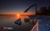 Steamy Winter Sun (andrewslaterphoto) Tags: andrewslaterphotography clouds cold discoverwisconsin evaporate freeze greatlakes ice lakemichigan lakeviewpark landscape nature outdoors powerplant sheboygan snow steam sunrise travelwisconsin winter wisconsin unitedstates us landscapephotography landscapes cityscape canon 5dmarkiii longexposure leefilter