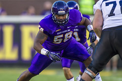 ECU Football '13 (R24KBerg Photos) Tags: ecu eastcarolina eastcarolinauniversity eastcarolinapirates ecupirates canon athletics ncaa football dowdyficklenstadium greenvillenc nike athlete leepegues 2013 conferenceusa cusa defense pirates sports