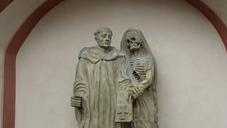 Heiliger Fridolin und Gevatter Tod