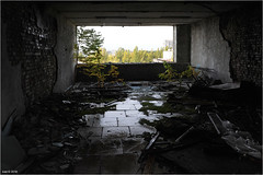 View on the abandoned city of Pripyat, Ukraine (Aad P.) Tags: chernobyl чорнобиль pripyat припять ukraine україна sovietunion cccp nuclearpowerplant radioactivity radiation urbex urbexphotography exclusionzone