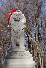 """Cedar Hill Lion"" (dr.tspencer) Tags: publicart lion selkirkny"