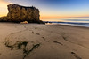 Warm Seaweed and Cove (JohnLazo19) Tags: 1635mm beach canon5dmarkiv elmatador landscapes morning ocean rocks sunrise water waves