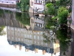 Reflets du château de Sablé-sur-Sarthe (72) (odile.cognard.guinot) Tags: sarthe paysdelaloire reflets sablésursarthe château 18esiècle