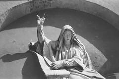 High relief with the Cathedral of Christ the Savior. (Donskoy monastery) (Andrey  B. Barhatov) Tags: russia moscow necropolis donskoymonastery history noiretblanc blackandwhite blackandwhiteonly bnwfilm bnwmood bnwdark bnw artinbw bwfp geobw orthodoxy orthodox bw outdoor outdoors travel 2017 moscowwalks noir monochrome monotone ru analog filmtype135 film filmfilmforever filmoriginal filmmood filmisnotdead filmphoto filmphotography lomography barhatovcom ilfordhp5 ilfordhp5400 kodaks1100xl grayscale россия москва история донскоймонастырь город пленка фотопленка чб чернобелое скульптура некрополь highrelief sculpture architecture art горельеф архитектура арт православие sredafilmlab pakonf235