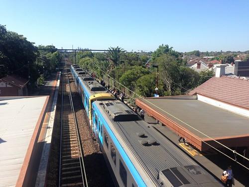 Siemens train at Ripponlea Railway Station